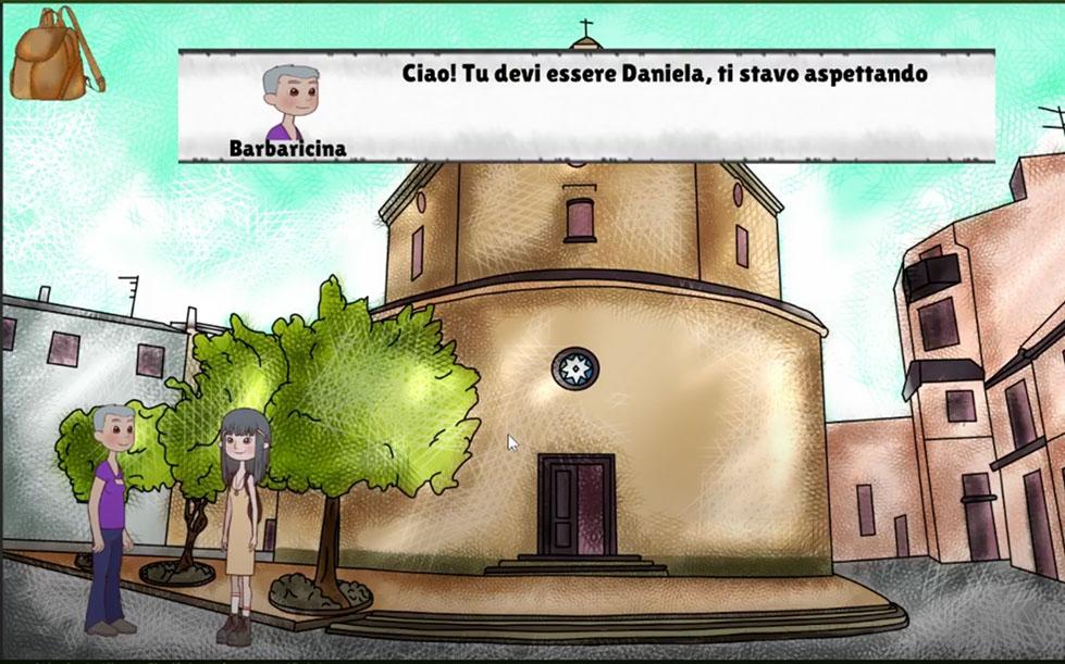 Chiesa Nostra Signora di Loreto - Daniela incontra Barbacina a Mamoiada