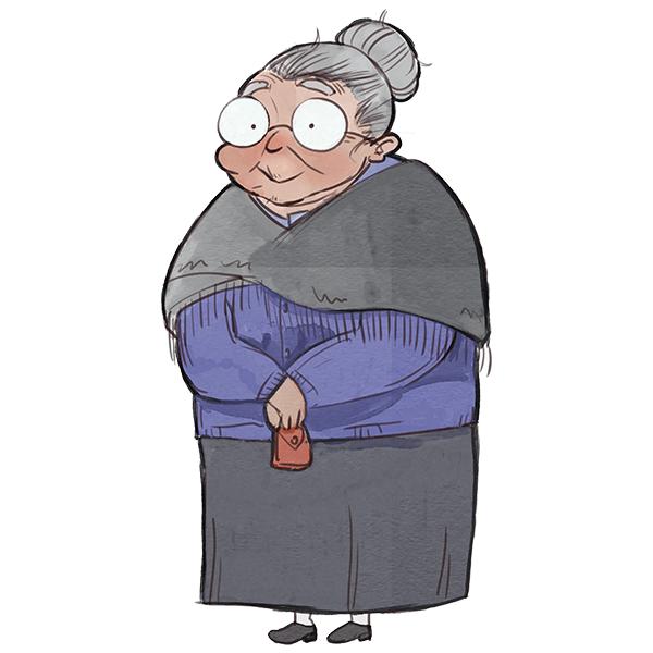 Nonna Felicita - Personaggio di fantasia